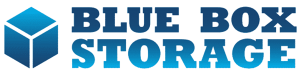 Self Storage company, Blue Box Storage - Main Logo